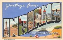 LLS100044 - Indiana, USA Postcard Post Cards