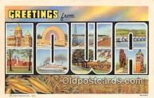 LLS100046 - Iowa, USA Postcard Post Cards