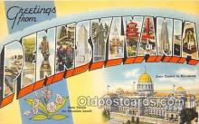 LLS100047 - Pennsylvania, USA Postcard Post Cards