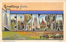 LLS100049 - Nebraska, USA Postcard Post Cards