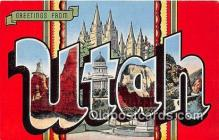 LLS100050 - Utah, USA Postcard Post Cards