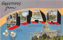 LLS100051 - Utah, USA Postcard Post Cards