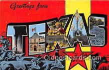 LLS100053 - Texas, USA Postcard Post Cards
