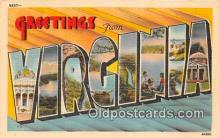 LLS100057 - Virginia, USA Postcard Post Cards