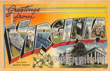 LLS100058 - Virginia, USA Postcard Post Cards