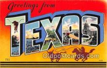 LLS100060 - Texas, USA Postcard Post Cards