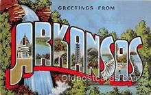 LLS100065 - Arkansas, USA Postcard Post Cards