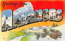 LLS100066 - Arkansas, USA Postcard Post Cards
