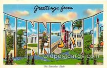 LLS100069 - Tennessee, USA Postcard Post Cards