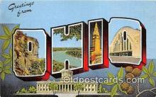 LLS100071 - Ohio, USA Postcard Post Cards