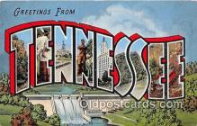 LLS100074 - Tennessee, USA Postcard Post Cards