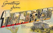 LLS100079 - Tennessee, USA Postcard Post Cards