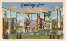 LLS100081 - Tennessee, USA Postcard Post Cards