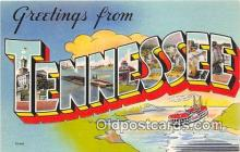 LLS100083 - Tennessee, USA Postcard Post Cards