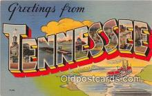 LLS100085 - Tennessee, USA Postcard Post Cards