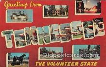 LLS100086 - Tennessee, USA Postcard Post Cards