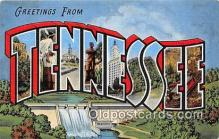 LLS100091 - Tennessee, USA Postcard Post Cards