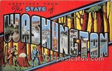 LLS100092 - Washington, USA Postcard Post Cards