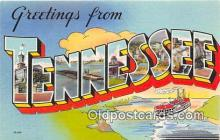 LLS100093 - Tennessee, USA Postcard Post Cards