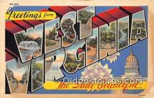 LLS100095 - West Virginia, USA Postcard Post Cards