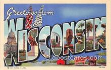 LLS100099 - Wisconsin, USA Postcard Post Cards