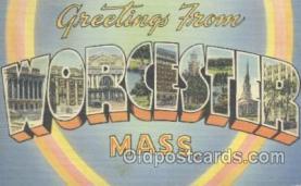 Worcester Mass. USA