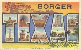 Borger, Texas, USA