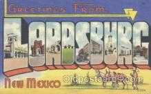 LLT001043 - Lordsburg, New Mexico, USA Large Letter Town Postcard Postcards