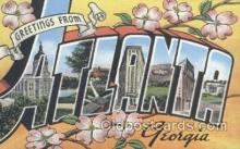 LLT001061 - Atlanta, Georgia, USA Large Letter Town Postcard Postcards