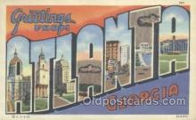 LLT001062 - Atlanta, Georgia, USA Large Letter Town Postcard Postcards