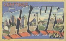 LLT001086 - St. Louis, MO, USA Large Letter Town Postcard Postcards