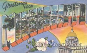 LLT001090 - Mississippi, USA Large Letter Town Postcard Postcards