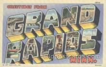LLT001091 - Grand Rapids, Minn. USA Large Letter Town Postcard Postcards
