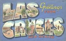 LLT001101 - Las Cruces, New Mexico, USA Large Letter Town Postcard Postcards