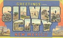 LLT001103 - Silver City, New Mexico, USA Large Letter Town Postcard Postcards