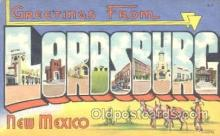 LLT001105 - Lordsburg, New Mexico, USA Large Letter Town Postcard Postcards