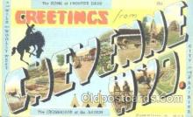 LLT001116 - Cheyenne, PA USA Large Letter Town Postcard Postcards