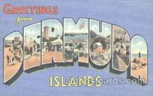 LLT001122 - Bermuda, Islands Large Letter Town Postcard Postcards