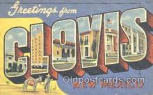 LLT001141 - Clovis, New Mexico, USA Large Letter Town Postcard Postcards