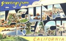 LLT001157 - Laguna Beach, Cal. USA Large Letter Town Postcard Postcards