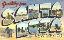 LLT001161 - Santa Rosa, New Mexico, USA Large Letter Town Postcard Postcards