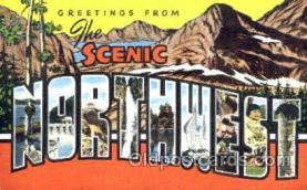 LLT001182 - Scenic Northwest Large Letter Town Postcard Postcards