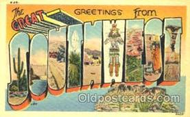 LLT001189 - Southwest Large Letter Town Postcard Postcards