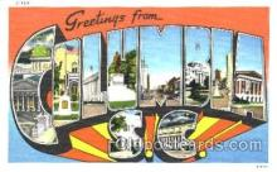 LLT001206 - Columbia, S.C. USA Large Letter Town Postcard Postcards