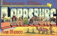 LLT001212 - Lordsburg, New Mexico, USA Large Letter Town Postcard Postcards