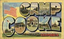 LLT001257 - Camp Cooke, California Large Letter Town Postcard Postcards