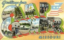 LLT001258 - Camp Crowder, Missouri Large Letter Town Postcard Postcards
