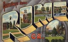 LLT001259 - Rome, Georgia Large Letter Town Towns Post Cards Postcards