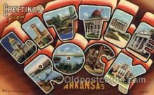 LLT001261 - Little Rock, Arkansas Large Letter Town Towns Post Cards Postcards