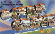 LLT001283 - Ocean Grove, New Jersey Large Letter Town Towns Post Cards Postcards